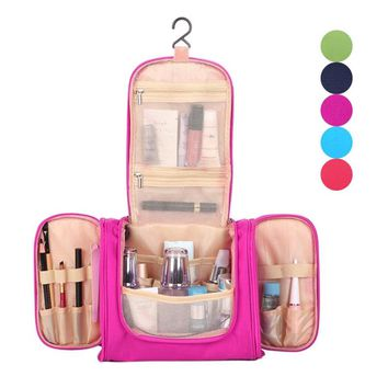 Makeup Organizer Multifunction Storage Case Stuff Organizer Travel Make Up Organizer Toiletry Storage Hanging Cosmetic Bag