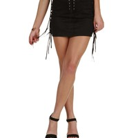 Sale-black Fringe Mirage Skirt