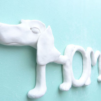 Decorative Wall Home Sign - DOG