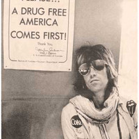 Keith Richards Drug Free Rolling Stones Poster 11x17