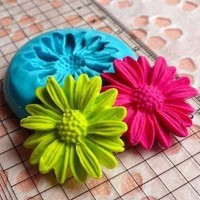 Mold / Mould  Flexible Flower / Chrysanthemum by MiniatureSweet
