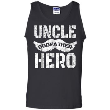 Uncle Godfather Hero  Great Gift for the family Tank Top