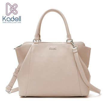 Kadell 2017 New Elegant Lady Business High Range Doctor Bag Designer Handbags High Quality Tote Bag Leather Shoulder Bag