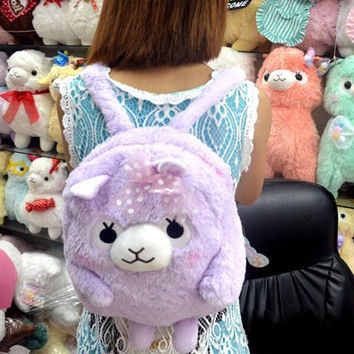 Cute Pastel Alpaca Bag