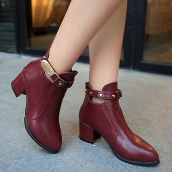 Hot Deal On Sale Autumn Shoes Winter Stylish Flat Dr. Martens England Style Boots [9138741255]