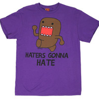 Haters Gonna Hate - Domo-Kun T-shirt - MyTeeSpot - Your T-shirt Store