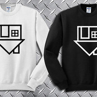 The Neighbourhood Symbol Custom Crewneck Sweatshirt for Unisex adult made by USA