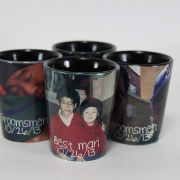 PERSONALIZED SHOT GLASSES-Personalized Groomsman Gifts-Wedding Gifts-Gifts for Guys and Girls-Great Christmas Gifts