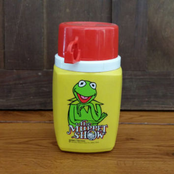 Vintage 1970s Kermit The Frog The Muppet Show Aladdin Thermos