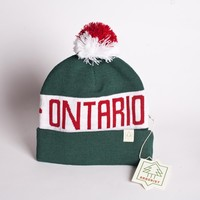 Ontario Toque - Wearing