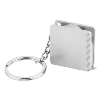 CREYET7 1pcs Pocket Practical Tape Measure Keychain Key Chain Ring Keyring Key Fob Holder Hot Selling