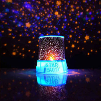 Romantic Blue Amazing Star Sky Cosmos Universal Night Light Kid Chidren Projector Christmas Home Decor Gift Veilleuse navidad