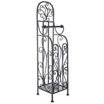 Black Metal Toilet Paper Holder | Hobby Lobby | 1005966