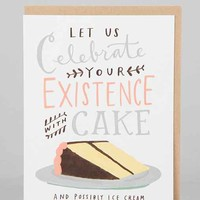 Emily McDowell Celebrate With Cake Birthday Card- Assorted One