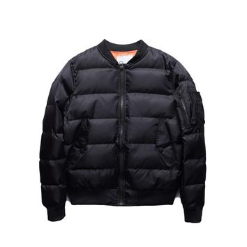 Jacket Classic  Solid Quilted Bomber