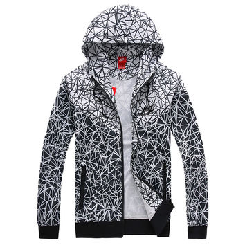 Trendsetter NIKE Women Hooded Sweatshirt Jacket Sport Cardigan Coat Windbreaker Sportswear