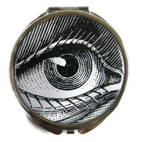 Eye Compact Mirror Pocket Mirror Large