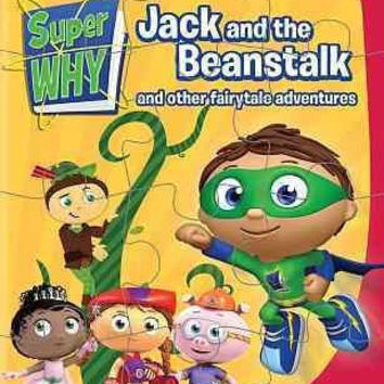 Super Why-Jack & The Beanstalk & Other Fairytale (Dvd/Puzzle)