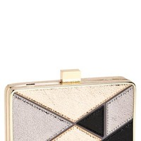 Expressions NYC 'Crinkle' Box Clutch | Nordstrom