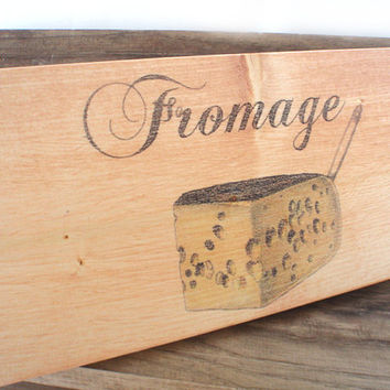 Kitchen sign, home decor, kitchen decor, wooden kitchen signs, fromage, kitchen wall decor, farmhouse decor,  FREE SHIPPING