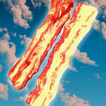 The Dawn of Bacon, sky bacon, Angels of bacon