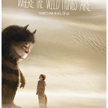 Where the Wild Things Are Desert Movie Poster 11x17