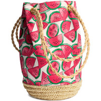 H&M - Bucket Bag - Red - Ladies
