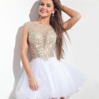 Rachel Allan Prom 6640 Rachel ALLAN Short Prom Prom Dresses, Evening Dresses and Homecoming Dresses | McHenry | Crystal Lake IL