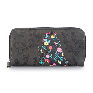 Disney Loungefly Alice in Wonderladn Floral Silhouette Wallet