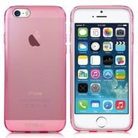 Minisuit Frost TPU Slim Rubber Grip Case for Apple iPhone 6 (Pink)