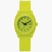 Nixon Small Time Teller P Watch Lime One Size For Women 25991851101