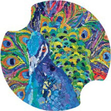 Peacock Car Accessory Carster Cup Holder Coaster