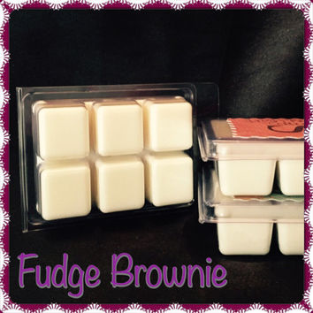 Fudge Brownie Scented Soy Breakaway Tart Wax Melt
