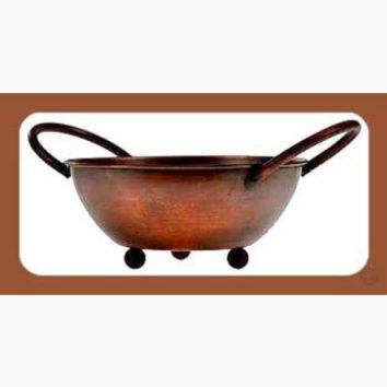 Antiqued Copper Bowl Incense Burner