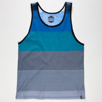 Valor Powell Mens Tank Blue  In Sizes