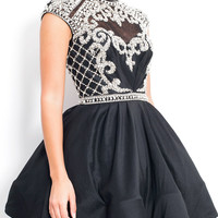 Jemima - Black Short Prom Dress