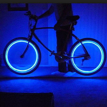 Cool LED Lights for Wheel Valve Caps Cars/Bikes - 4 LIGHTS SET
