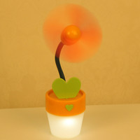 Lights USB Korean Lovely Mini Fan [6270380934]