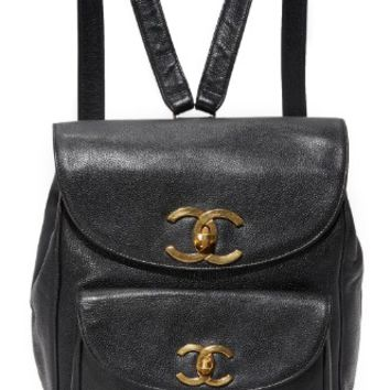 Chanel Caviar Backpack (Previously Owned)