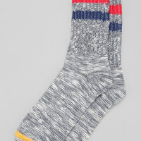 Stripe Marled Camp Sock - Urban Outfitters