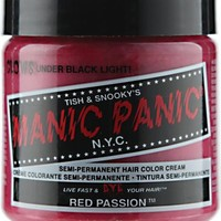 Manic Panic Semi-Permanent Red Passion Hair Color Cream