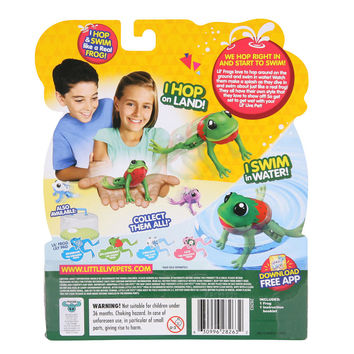 Little Live Pets Lil' Frog Lily the Peaceful Frog Pack
