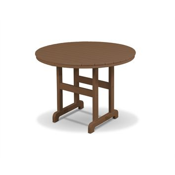 "Trex Outdoor Furniture Monterey Bay Round 36"" Dining Table"