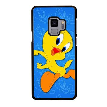 TWEETY BIRD LOONEY TUNES HAPPY Samsung Galaxy S4 S5 S6 S7 S8 S9 Edge Plus Note 3 4 5 8 Case Cover