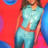 Britney Spears 2000 Portrait Poster 22x34