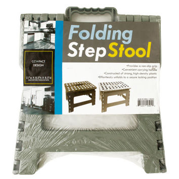 Folding Step Stool: Case of 1
