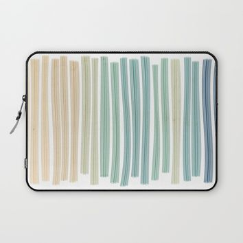 Sand and sea Laptop Sleeve by EDrawings38 | Society6