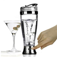 Electric Protein Blender Water Bottle Automatic Tornado Vortex