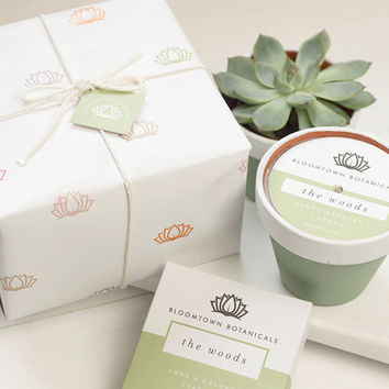 Deluxe Soap + Scented Candle Gift Set, Palm Oil-Free, Cruelty-Free, Beautifully Wrapped