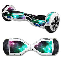 Street Glyder 360 Protective Vinyl Skin Decal for Self Balancing Scooter Hoverboard mini hover 2 wheel unicycle wrap cover sticker Glow Stars